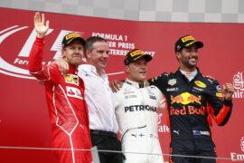 2017 Austrian Grand Prix: F1 race Results, Winner & Report