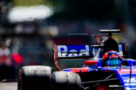 Daniil Kvyat of Scuderia Toro Rosso and Russia during practice for the Formula One Grand Prix of Hungary at Hungaroring on July 28, 2017 in Budapest, Hungary.