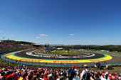 Hungaroring turn 14 view