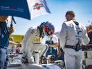 Hungaroring, Budapest, Hungary. Sunday 30 July 2017. Paul di Resta, Williams Martini Racing, exits his car on the grid.