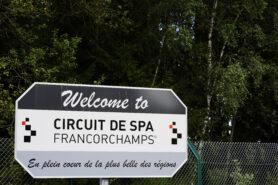 Spa-Frnacorchamps road sign