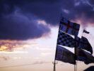 British GP flags