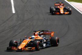 McLaren teammates at Belgian GP F1/2017