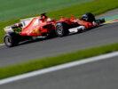 G.P. BELGIO F1/2017 - SPA FRANCORCHAMPS Sebastian Vettel on track
