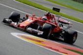 Kimi Raikkonen, Ferrari SF70H on Spa, Belgium 2017
