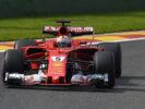 G.P. BELGIO F1/2017 - SPA FRANCORCHAMPS Sebastian Vettel Ferrari on track
