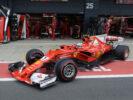 Sebastian Vettel Ferrari British GP F1/2017