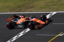 Hungaroring, Budapest, Hungary. Wednesday 2 August 2017. Lando Norris, McLaren MCL32 Honda.