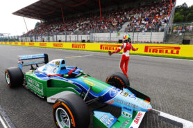 Benetton B194 Frod with Mick Schumacher Belgian GP Spa Francorchamps F1 2017