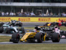 Nico Hulkenberg Renault on track British GP F1 2017