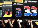 Red Bull pit girls Belgian GP F1/2017