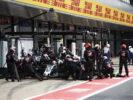 Romain Grosjean pit stop in British GP F1/2017