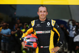 Robert Kubica (POL) Renault Sport F1 Team Test Driver. Formula One Testing. Tuesday 1st August 2017. Budapest, Hungary.