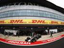 VF17 leaving garage Haas kevin Magnussen British GP F1/2017