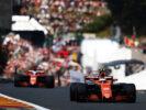 Spa Francorchamps, Belgium F1/2017 Stoffel Vandoorne, McLaren MCL32 Honda, leads Fernando Alonso, McLaren MCL32 Honda.