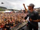 Spa Francorchamps, Belgium. Saturday 26 August 2017. Stoffel Vandoorne, McLaren, n stage in the F1 Fanzine.