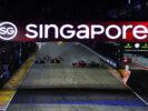 Start Marina Bay Circuit, Marina Bay, Singapore. Sunday 17 September 2017.