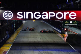Vettel, Verstappen & Raikkonen crash Singapore 2017