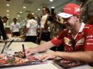 Sebastian Vettel Ferrari GP SINGAPORE F1/2017