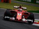 Kimi Raikkonen Ferrari on track GP ITALIA F1/2017