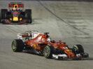 Sebastian Vettel & Max Verstappen GP SINGAPORE F1/2017