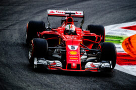 Sebastian Vettel Monza GP ITALIA F1/2017