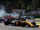 Nico Hulkenberg (GER) Renault Sport F1 Team RS17. Italian Grand Prix, Sunday 3rd September 2017. Monza Italy.