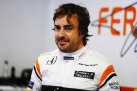 Autodromo Nazionale di Monza, Italy. Friday 1 September 2017. Fernando Alonso, McLaren.