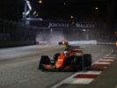 Marina Bay Circuit, Marina Bay, Singapore. Sunday 17 September 2017. Fernando Alonso, McLaren MCL32 Honda.