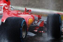 Autodromo Nazionale di Monza, Italy 2017. Sebastian Vettel, Ferrari SF70H.