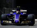 Pascal Wehrlein (D), Sauber F1 Team. Marina Bay Street Circuit. Singapore GP F1 2017