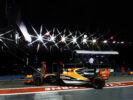 Marina Bay Circuit, Marina Bay, Singapore. Fernando Alonso McLaren F1 2017.