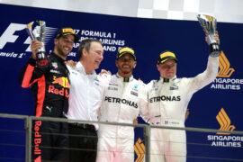 2017 Singapore Grand Prix: F1 race Results, Winner & Report