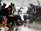 Autodromo Nazionale di Monza, Italy. Mercedes Lewis Hamilton Italian GP F1 2017