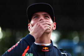 Max Verstappen at Monza Italian GP F1/2017