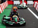 Max Verstappen karting before Italian GP F1/2017