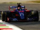 Carlos Sainz on track Italian GP F1 2017