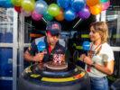 Carlos Sainz Toro Rosso birthay boy Monza Italian GP F1/2017