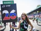 Pit girl of Daniil Kvyat Monza Italian GP F1/2017