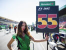 Pit girl of Carlos Sainz Toro Rosso Monza Italian GP F1/2017