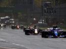 Cars on track Italian GP F1/2017
