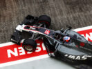 Romain Grosjean Haas leaves the garage Marina Bay Circuit, Marina Bay, Singapore GP F1/2017
