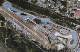 French Grand Prix circuit photo