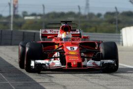 Sebastian Vettel Ferrari GP USA F1/2017