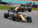 Nico Hulkenberg (GER) Renault Sport F1 Team RS17. Malaysian Grand Prix, Sunday 1st October 2017. Sepang, Kuala Lumpur, Malaysia.