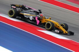 Nico Hulkenberg (GER) Renault Sport F1 Team RS17. United States Grand Prix, Friday 20th October 2017. Circuit of the Americas, Austin, Texas, USA.