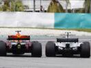 Daniel Ricciardo and Valtteris Bottas Malaysian GP F1 2017