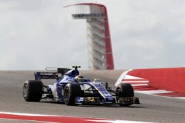 Pascal Wehrlein (D), Sauber F1 Team. Circuit of the Americas United States F1/2017