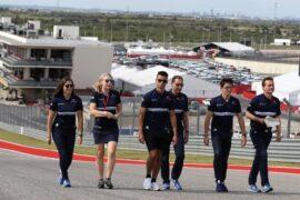Pascal Wehrlein (D), Sauber F1 Team. Circuit of the Americas track walk United States GP 2017