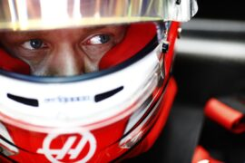 Kevin Magnussen Haas Circuit of the Americas, Austin, Texas, United States of America. Friday 20 October 2017.